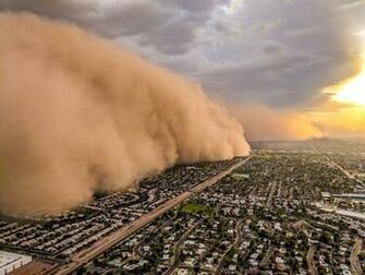 James Van Fleet on Twitter Phoenix dust storm called a Haboob