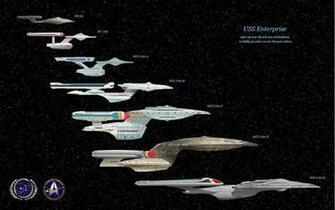 USS Enterprise evolution Star Trek Pinterest