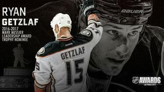 Getzlaf Named Finalist for Mark Messier Leadership Award