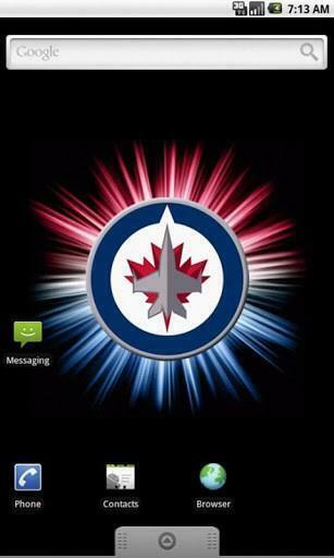 View bigger   Winnipeg Jets Live Wallpaper for Android screenshot