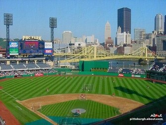 PNC Park   Wallpaper of the Pittsburgh Pirates baseball stadium