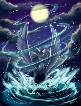 Download Pokemon Artwork Wallpaper Real Lugia Things I Like