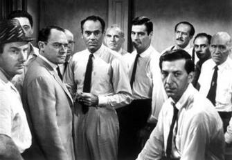 12 Angry Men Men Actors Black White Bw   Stock Photos Images