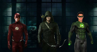 CW Green Lantern Show Why How Who and Green Arrow Cw Wallpaper