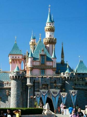Walt Disney Sleeping Beauty Castle Wallpaper