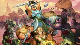Dungeons And Dragons Chronicles of Mystara Wallpaper 1920x1080