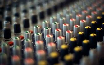 Sound Mixer Wallpaper Images amp Pictures   Becuo