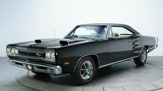 Cars Dodge Coronet rt Black Classic Muscle Car Wallpaper   MixHD