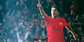 Luis Suarez FC Barcelona 201415 wallpaper by SelvedinFCB on