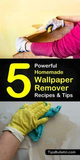 Homemade Wallpaper Remover Recipes 5 Tips For Easily Removing