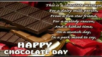 Happy Chocolate Day Wallpaper With Quotes Yokwallpapers   Happy