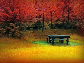You can find 24 beautiful autumn wallpapers of beautiful landscapes of