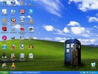 Doctor Who Desktop background by rockerchick511