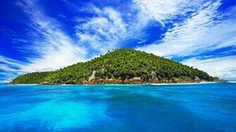 Desert Island Desktop Background Wallpaper