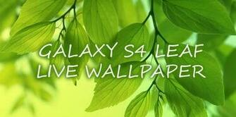 Leaf Live Wallpaper Android Apps   Download Android Applications