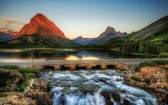 Magical Mountain Lake Windows 8 Wallpaper wallpapers x