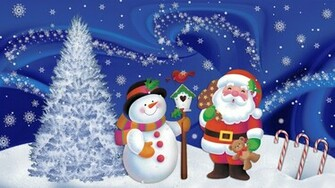 40 Christmas Wallpapers HD Quality 2012 Collection