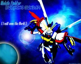 Mobile Fighter G Gundam Wallpaper Burning Gundam   Minitokyo