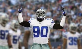 GOING DEEPBEYOND THE HUDDLE Dallas Cowboys DE DeMarcus Lawrence