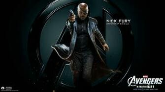 Marvels Avengers Wallpapers HD The Avengers Nick Fury HD