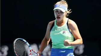 Australian Open 2020 Sofia Kenin soars into maiden grand slam