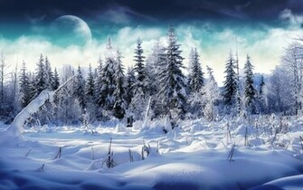 beautiful christmas winter wallpapers desktop winter special time year