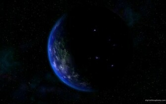 Blue Cool Blue Planet Space Planets HD Desktop Wallpaper