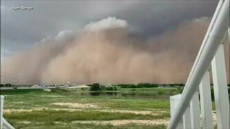 Rare Texas haboob sends massive wall of dirt flying Video abc13com
