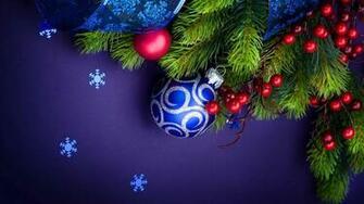 Christmas Decorations And Snowflakes UHD 4K Wallpaper Pixelz