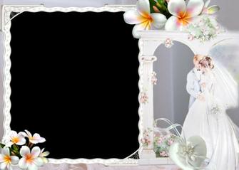 Elegantes Marcos para Fotos de Boda o Matrimonio Marcos Gratis para