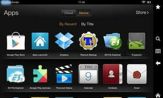 Trick 3 Turn Kindle Fire into Android Tablet
