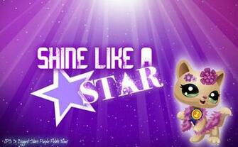LPS Biggest Stars Purple Team Wallpaper by LPS Universe