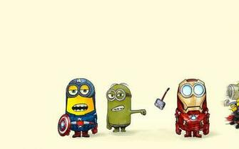 The Avengers Minions Parody Captain America Hulk Thor Iron Man