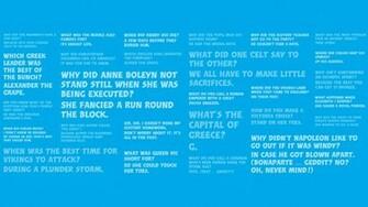 Horrible Histories Jokes Wallpaper