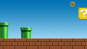 Mario Login Screen Background by J Bob