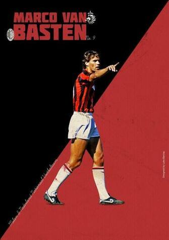 Marco Van Basten by Luke Barclay Design soccer Soccer