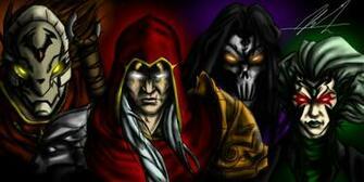 Darksiders   Four Horsemen by StrangerOfTheEast