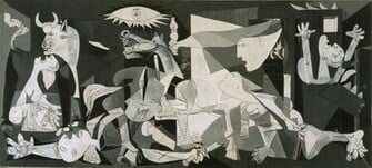 Wallpapers Download 3369x1523 pablo picasso guernica Wallpaper