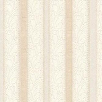 15104 BeigeWhite Leaf Stripe Texture Wallpaper Lowes Canada