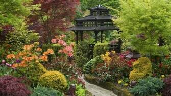 England Garden Wallpaper 1920x1080 England Garden Zen