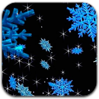 3D Animated Snowflakes Live Wallpaper Kindle Fire Apps