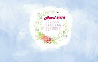 April 2018 Calendar Wallpaper MaxCalendars Calendar wallpaper