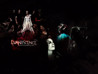 Dark Evanescence Wallpaper by princesiitha