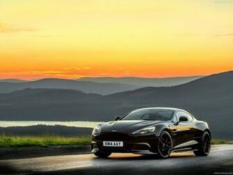 2015 Aston Martin Vanquish Carbon Black HD Desktop Background