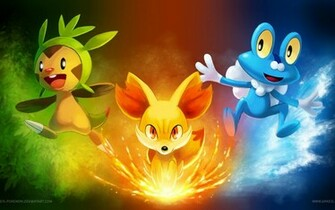 Wallpapers and Pictures Pokemon Pictures Awesome Starters Pokemon