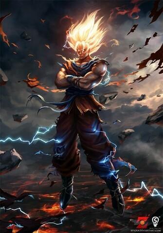 Goku by bpsola