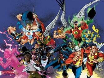 JSA   DC Comics Wallpaper 4007307