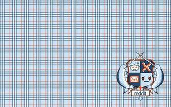 Plaid Reddit Widescreen Wallpaper Featuring Coat of Arms darelparker
