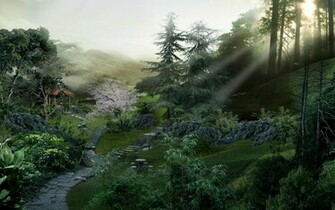 china landscape digital japan landscapes wallpaper keyword