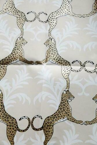 Cheetah wallpaper Thibaut Paint Wallpaper Fabric Pinterest